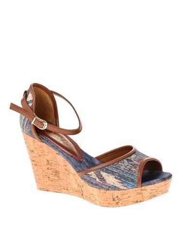Queen Bee Ayakkabı Mavi